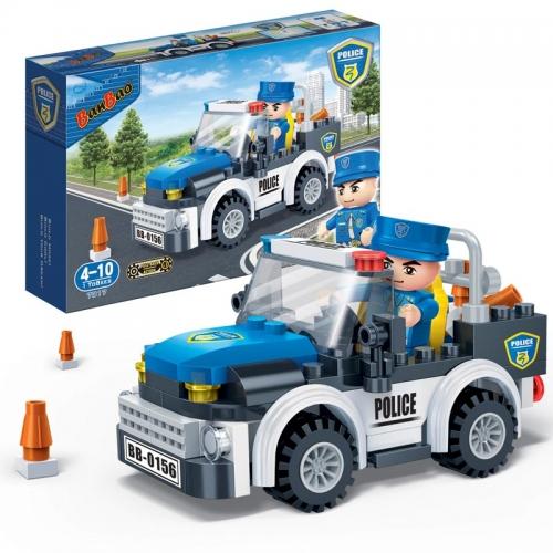 Конструктор - Полицейская машина, 100 деталейКонструкторы BANBAO<br>Конструктор - Полицейская машина, 100 деталей<br>