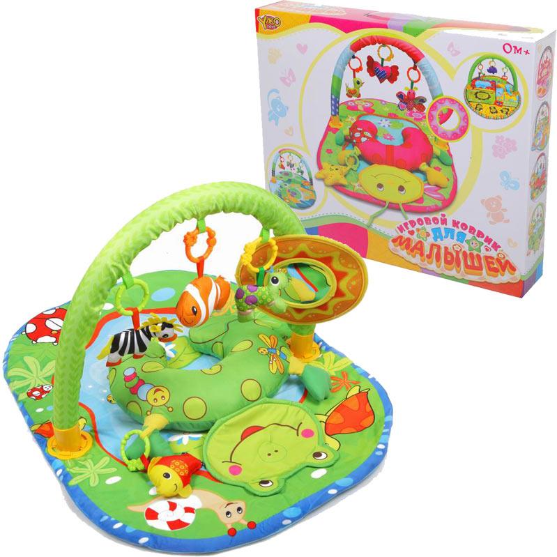 Коврик детский – Лягушонок - Детские развивающие коврики для новорожденных, артикул: 166558