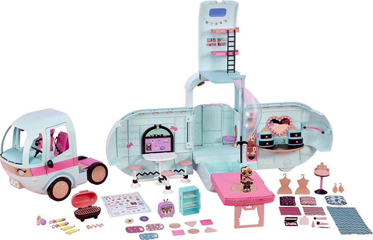 Купить Автобус для кукол LOL Surprise Glamper, свет и звук, MGA Entertainment