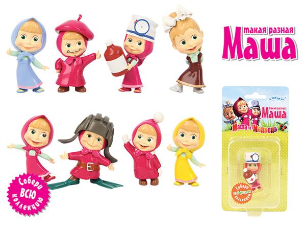 ПВХ фигурка - Маша серии Маша и МедведьМаша и медведь игрушки<br>ПВХ фигурка - Маша серии Маша и Медведь<br>