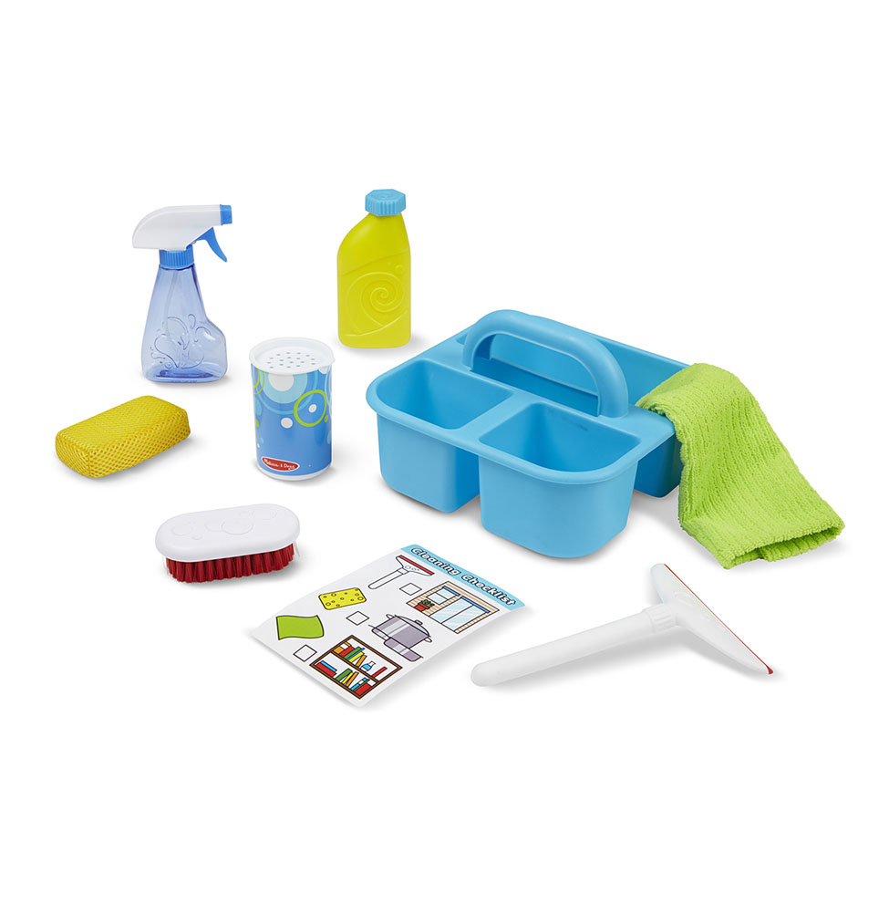 Игровой набор для уборки, 9 предметов, Melissa&Doug  - купить со скидкой