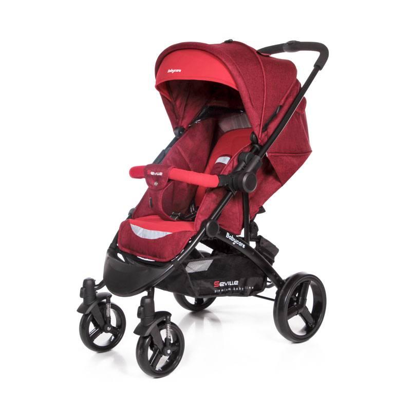 Прогулочная коляска Baby Care Seville - Красный 17 Red 17Детские прогулочные коляски<br>Прогулочная коляска Baby Care Seville - Красный 17 Red 17<br>