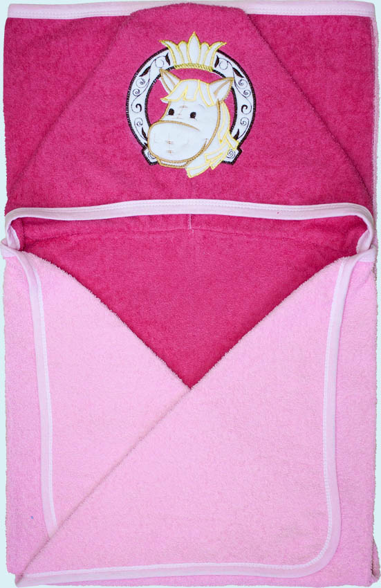 Банное полотенце, розовое Золотой гусь
