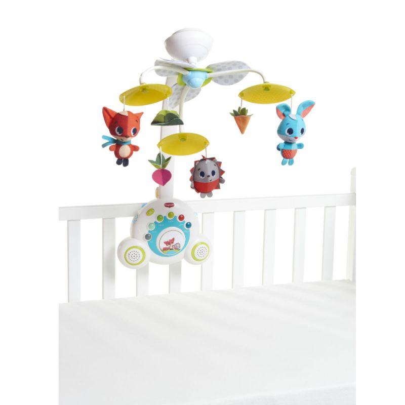 Мобиль Бум-Бокс - Солнечная полянкаМобили и музыкальные карусели на кроватку, игрушки для сна<br>Мобиль Бум-Бокс - Солнечная полянка<br>