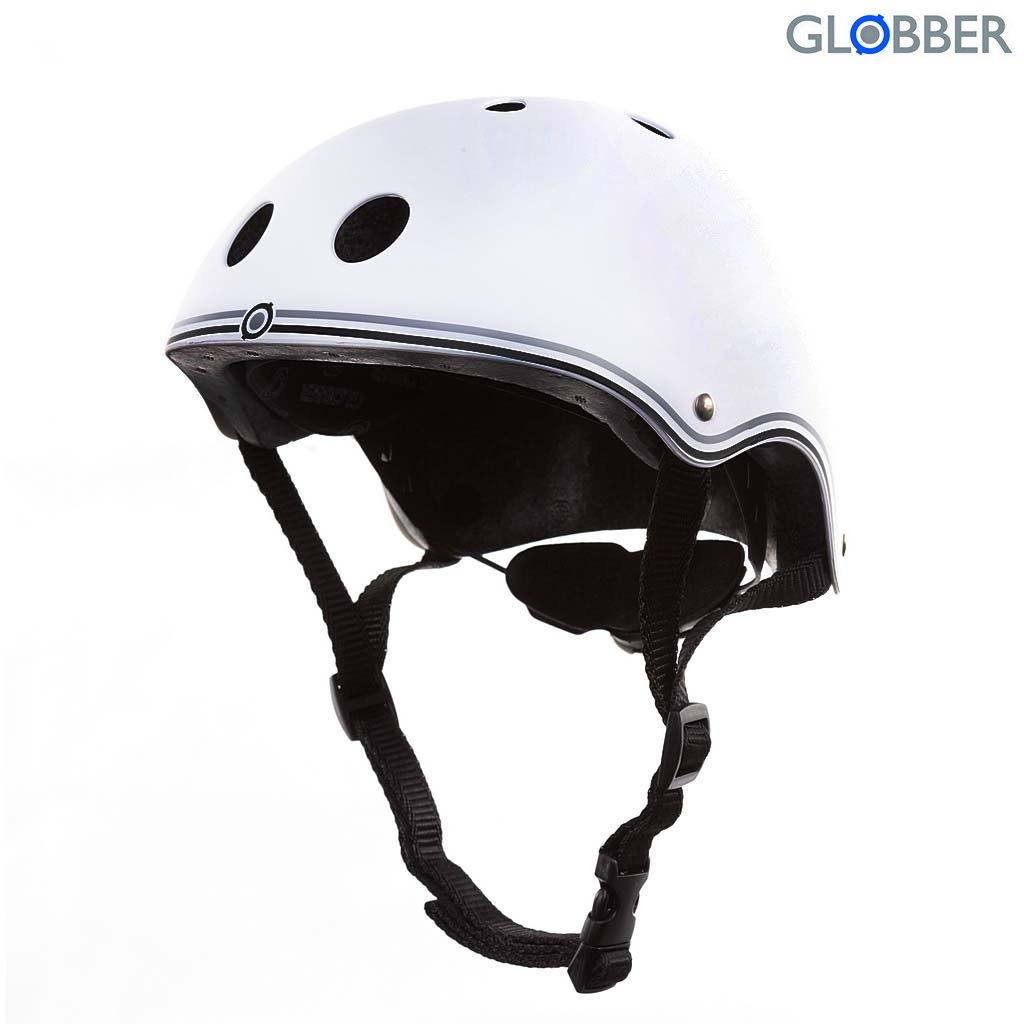 500-119 Шлем Globber Junior, white, XS-S 51-54 смЗащита: шлемы и пр.<br>500-119 Шлем Globber Junior, white, XS-S 51-54 см<br>