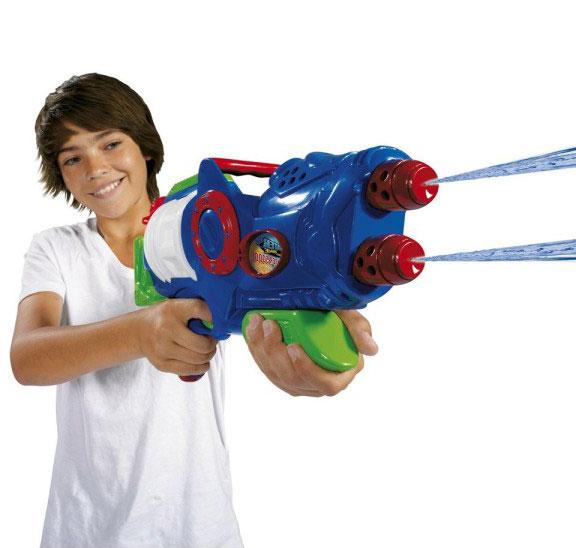 Двуствольное водяное ружье - Водяные пистолеты, артикул: 14904