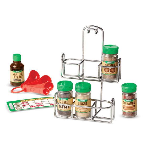 Готовь и играй – Набор специи для выпечкиАксессуары и техника для детской кухни<br>Готовь и играй – Набор специи для выпечки<br>