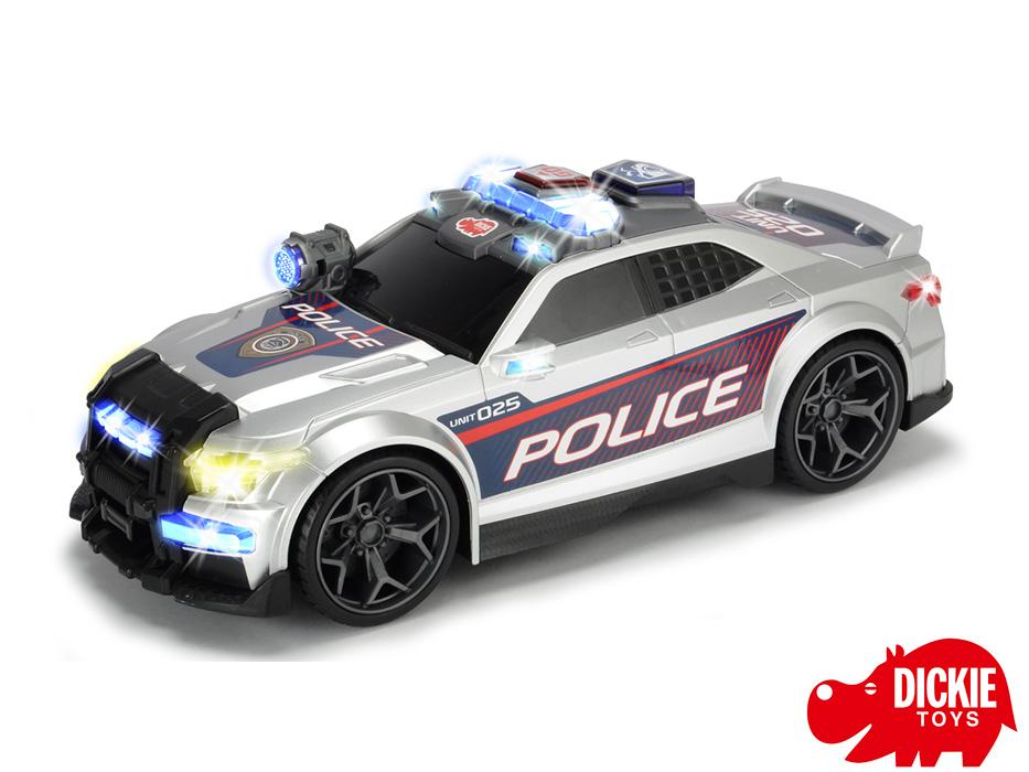 Купить Полицейская машина Сила улиц, свет, звук, 33 см., Dickie Toys