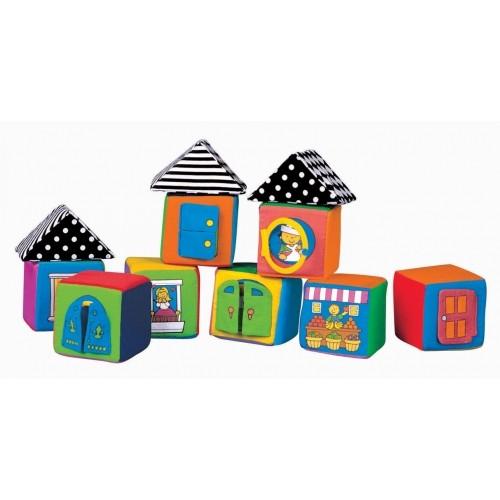 Мягкие кубикиРазвивающие игрушки Tiny Love<br>Мягкие кубики<br>