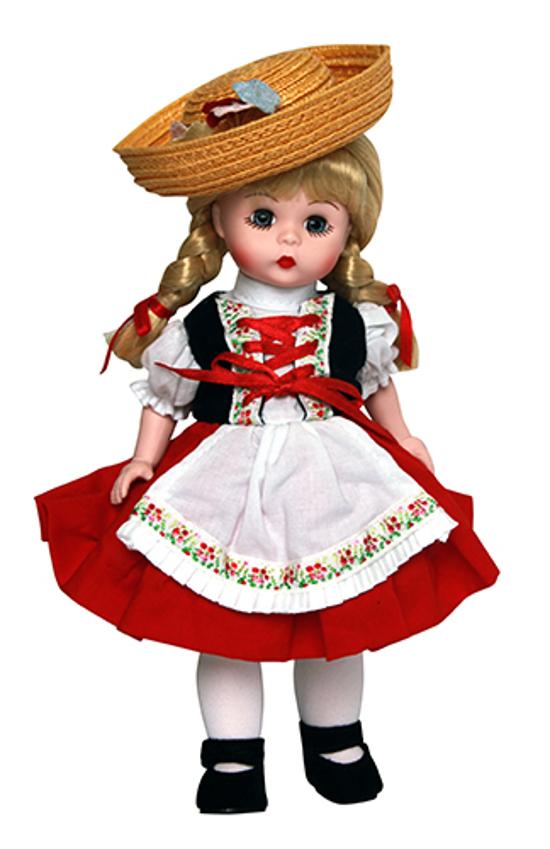 Кукла - Хейди, 20 смКуклы Madame Alexander<br>Кукла - Хейди, 20 см<br>