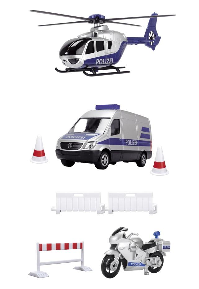 Купить Набор полицейской техники, Dickie Toys