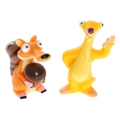 Играем вместе Набор из 2 игрушек для купания «Ледниковый период»