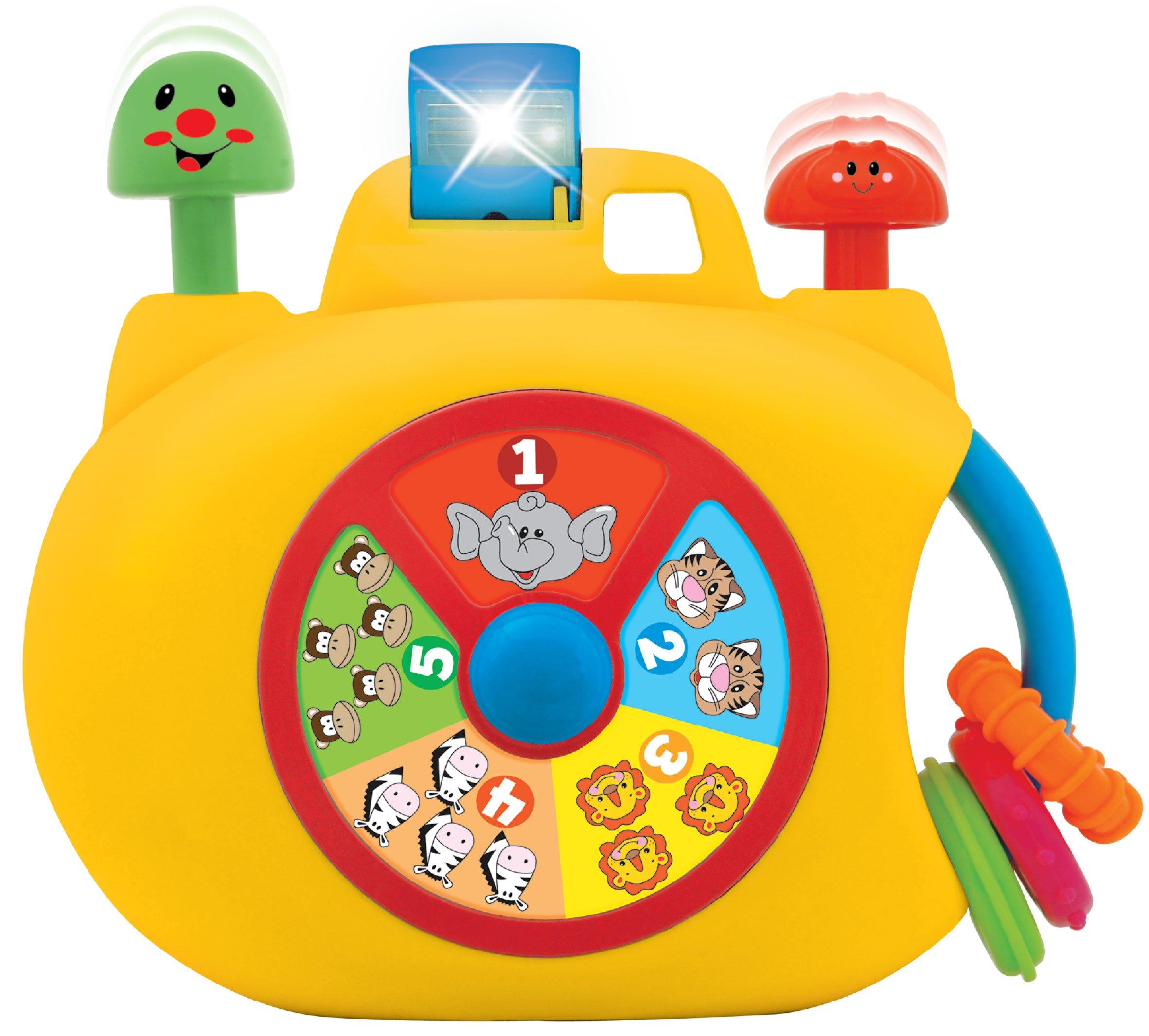 Развивающая игрушка - Забавная камераРазвивающие игрушки KIDDIELAND<br>Развивающая игрушка - Забавная камера<br>