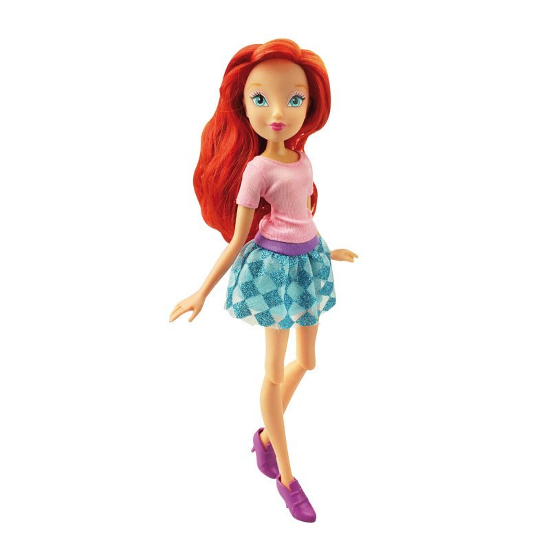 Кукла из серии Winx Club - Городская магия BloomКуклы Винкс (Winx)<br>Кукла из серии Winx Club - Городская магия Bloom<br>