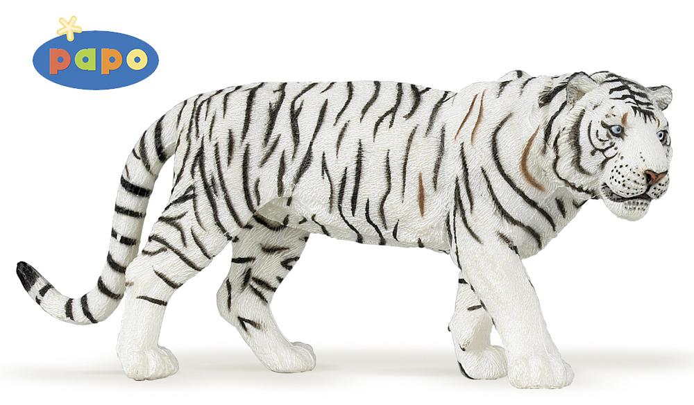 Фигурка Белый тигр фото