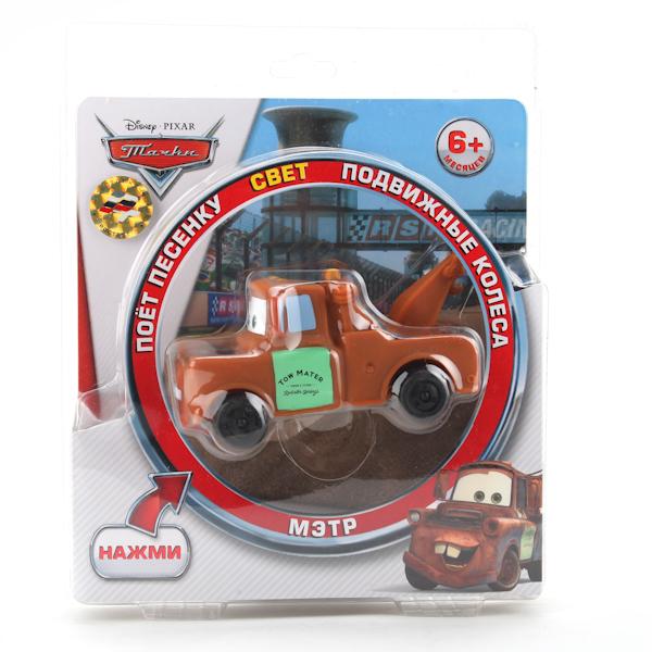 Игрушка «Мэтр Дисней», со световыми и звуковыми эффектами, русифицированныйCARS 3 (Игрушки Тачки 3)<br>Игрушка «Мэтр Дисней», со световыми и звуковыми эффектами, русифицированный<br>