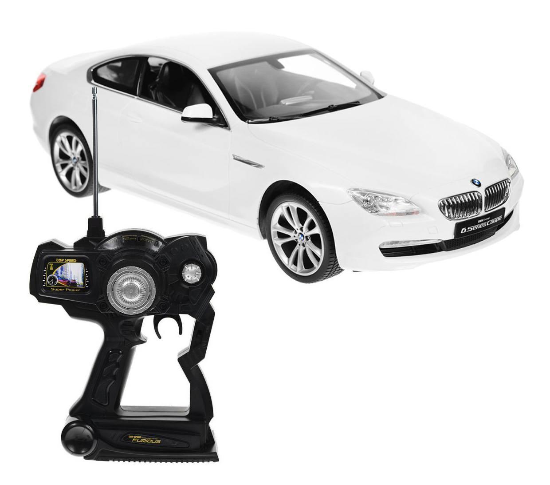 картинка BMW 6 Series Coupe Rastar на радиоуправлении, 49 см. от магазина Bebikam.ru
