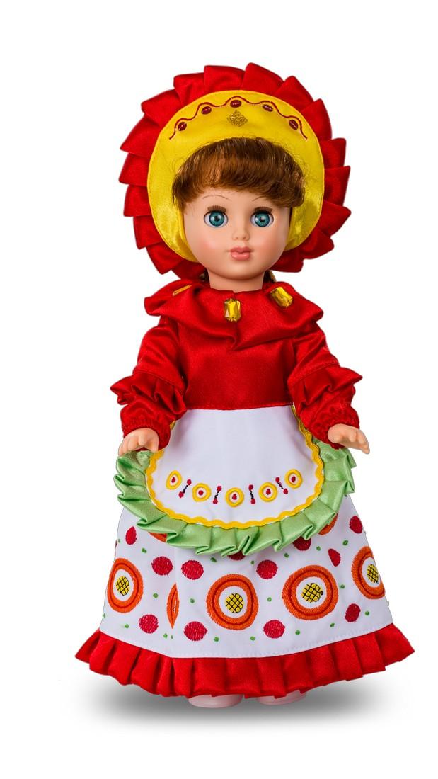 Кукла Алла - Дымковская барышняРусские куклы фабрики Весна<br>Кукла Алла - Дымковская барышня<br>