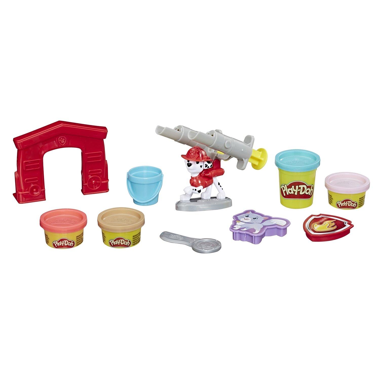 Play-doh. Игровой набор - Щенячий патруль - Маршалл Hasbro