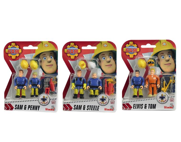 Пожарный Сэм. Фигурки 7,5 смПожарный СЭМ<br>Пожарный Сэм. Фигурки 7,5 см<br>