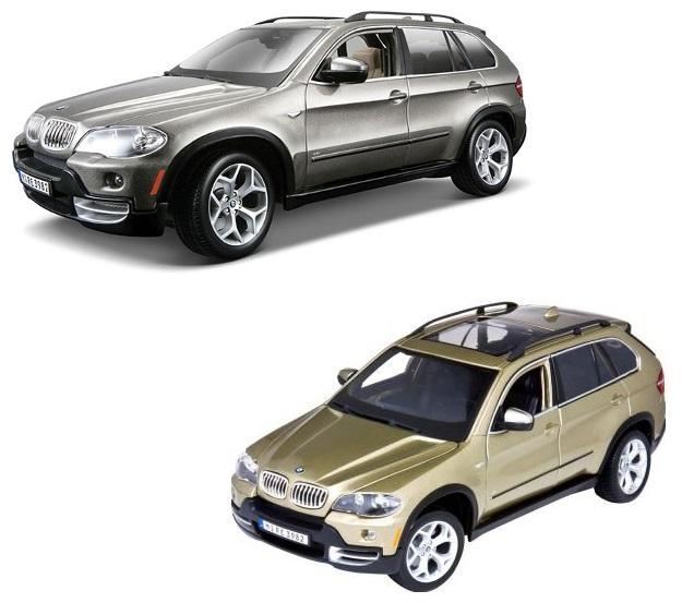 Металлическая машинка Bburago BMW X5, масштаб 1:18BMW<br>Металлическая машинка Bburago BMW X5, масштаб 1:18<br>