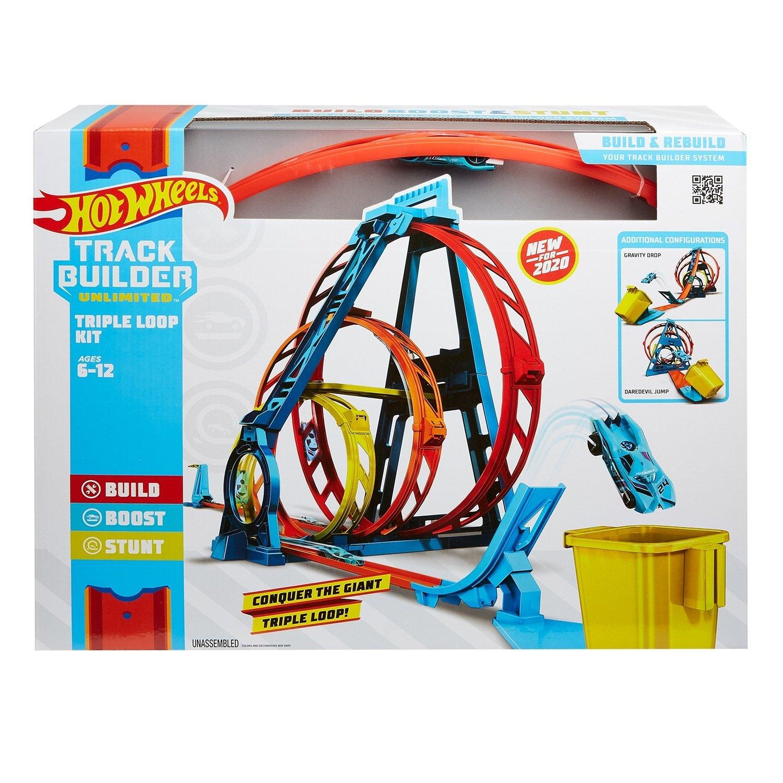 Конструктор трасс Hot Wheels® - Тройная петля Mattel