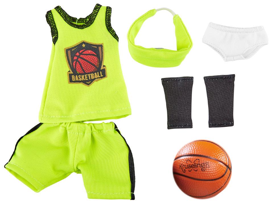 Одежда для баскетбола с аксессуарами для куклы Джой, 32 см.