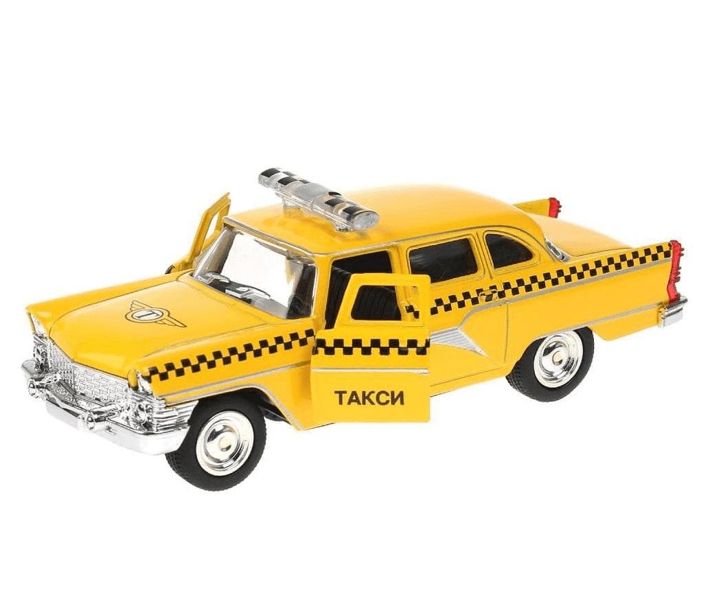 Купить со скидкой Металлическая инерционная машина - ГАЗ Чайка такси