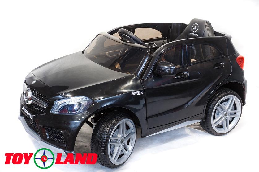 Электромобиль – Mercedes-Benz A45, черный, свет и звукЭлектромобили, детские машины на аккумуляторе<br>Электромобиль – Mercedes-Benz A45, черный, свет и звук<br>