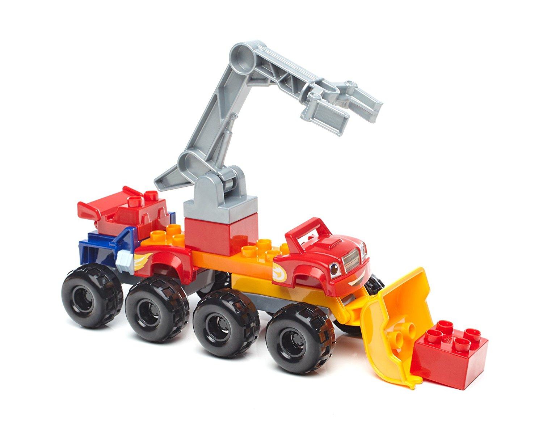 Конструктор – Вспыш: монстр-траки с аксессуарами, 14 деталейКонструкторы Mega Bloks<br>Конструктор – Вспыш: монстр-траки с аксессуарами, 14 деталей<br>