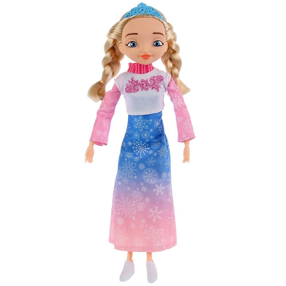 Купить Интерактивная кукла Царевны – Аленка, 29 см, 15 песен и фраз, Карапуз