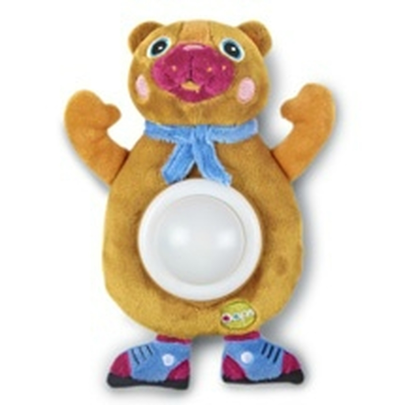 Мягкая игрушка-ночник МедвежонокМузыкальные ночники и проекторы<br>Мягкая игрушка-ночник Медвежонок<br>