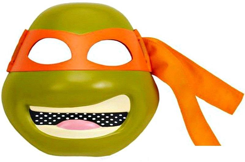 Маска Черепашек Ниндзя Микеланджело TmntКарнавальные маски и колпаки<br>Маска Черепашек Ниндзя Микеланджело Tmnt<br>