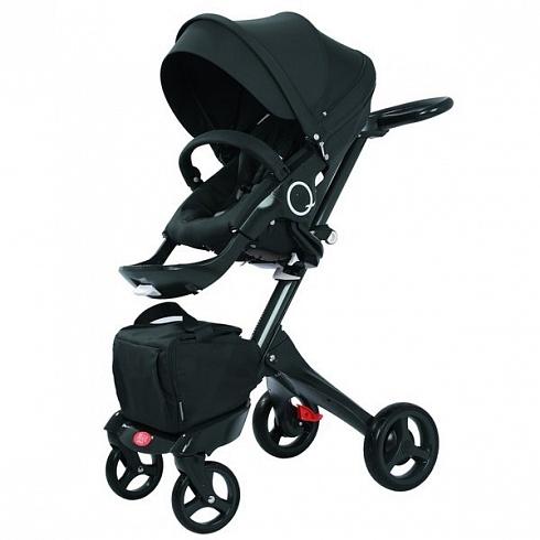 Детская коляска 2 в 1 - Nuovita Sogno, черная
