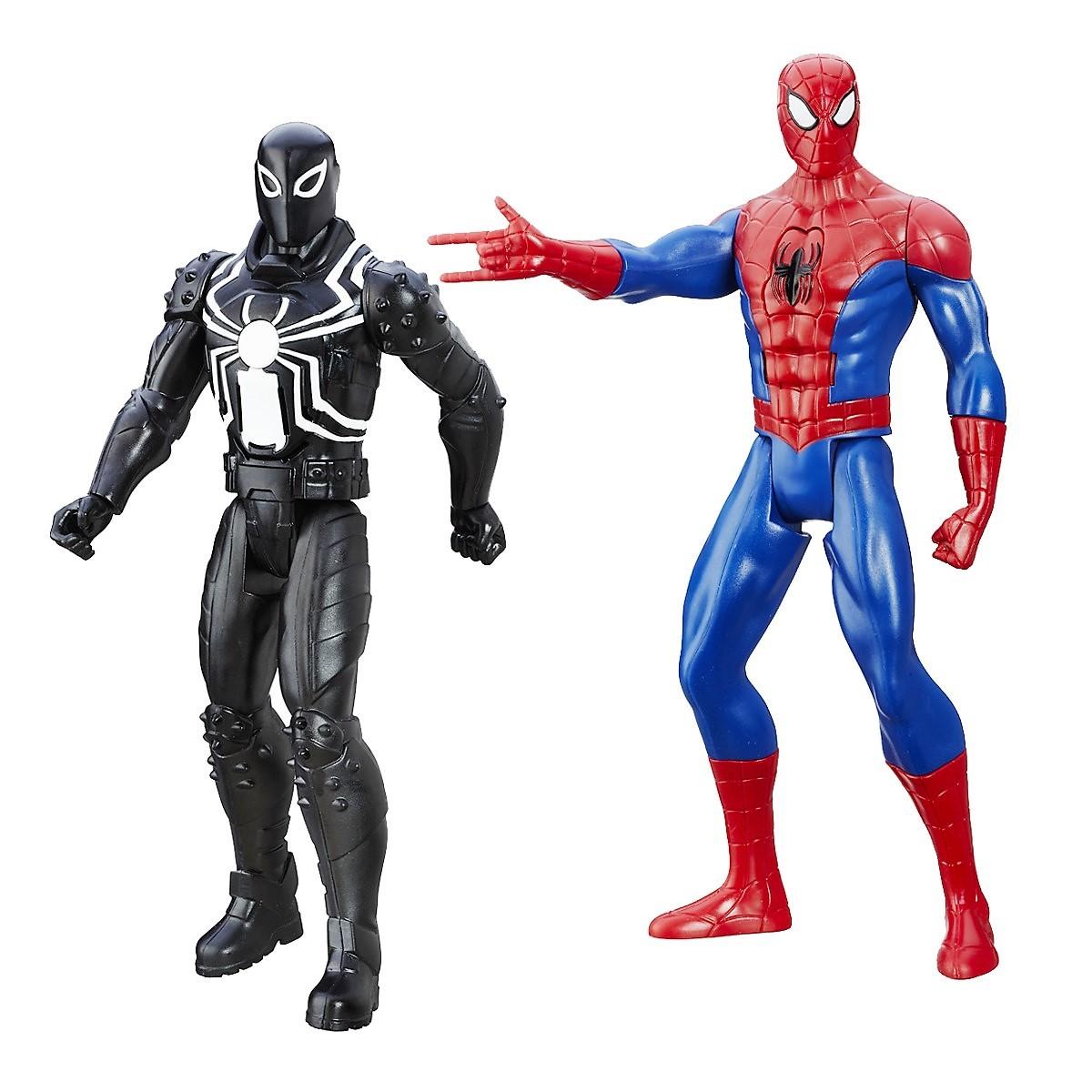 Электронные фигурки Человека-Паука из серии Spider-Man ТитаныSpider-Man (Игрушки Человек Паук)<br>Электронные фигурки Человека-Паука из серии Spider-Man Титаны<br>