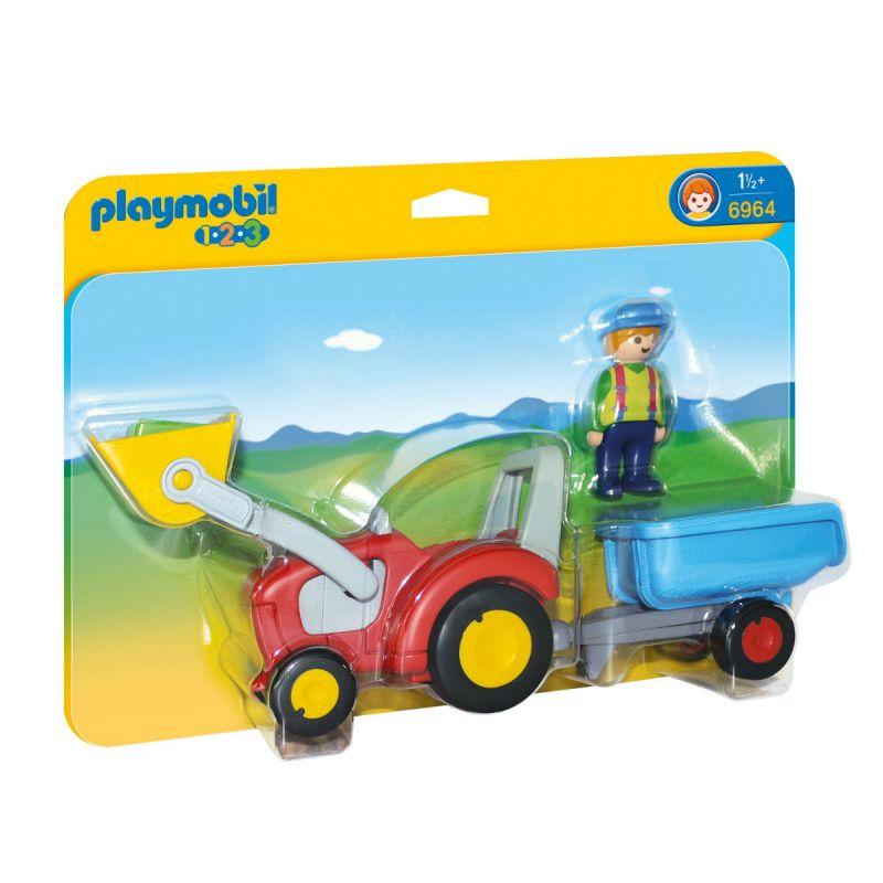 Набор - Трактор с прицепом фото
