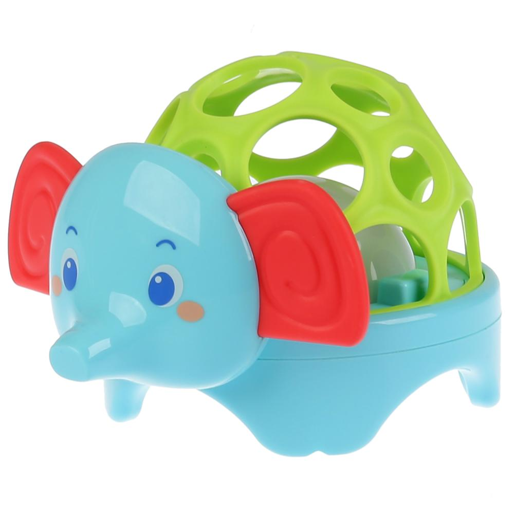 Купить Музыкальная игрушка Слоненок, стихи А. Барто, со световыми эффектами, Умка