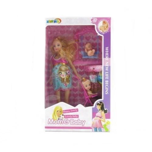 Набор из 3 кукол - Mom and Baby от Toyway