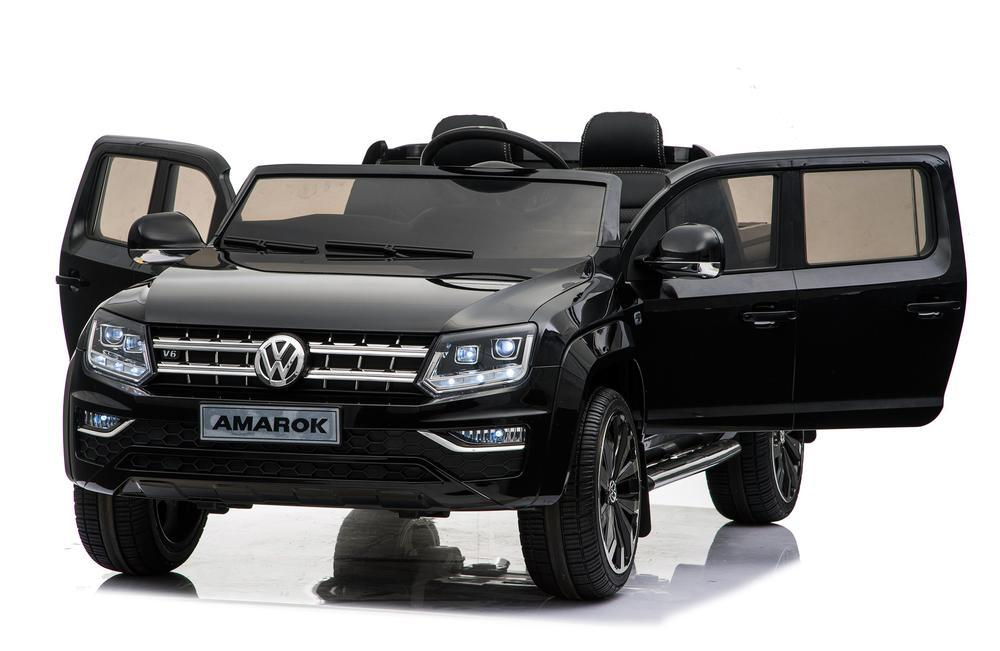 Купить Электромобиль Volkswagen Amarok, черного цвета, ToyLand