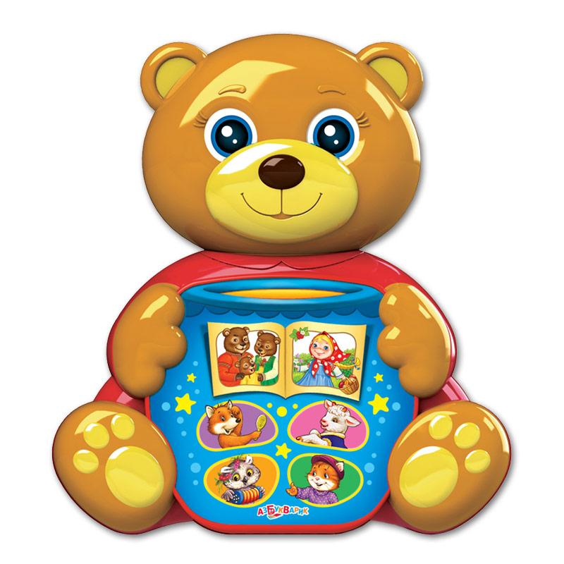 Купить Игрушка музыкальная из серии Любимая сказочка - Мишка косолапый, Азбукварик