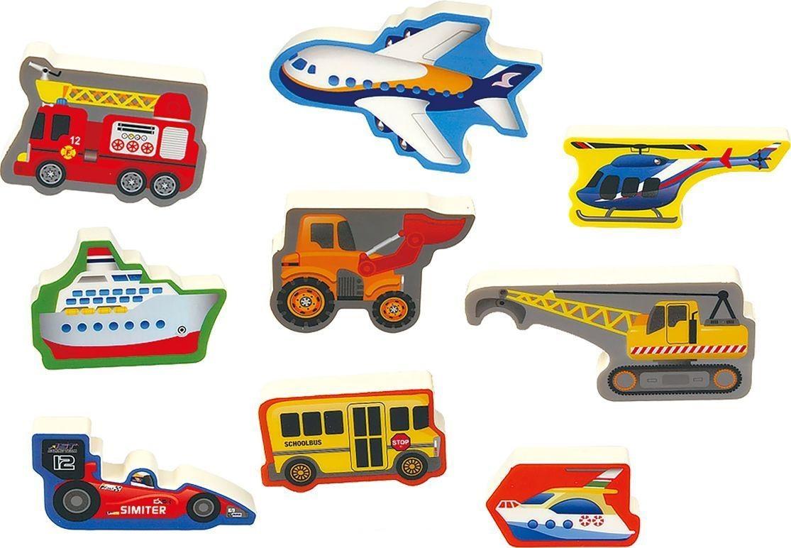 Пазл-головоломка – ТранспортПазлы для малышей<br>Пазл-головоломка – Транспорт<br>
