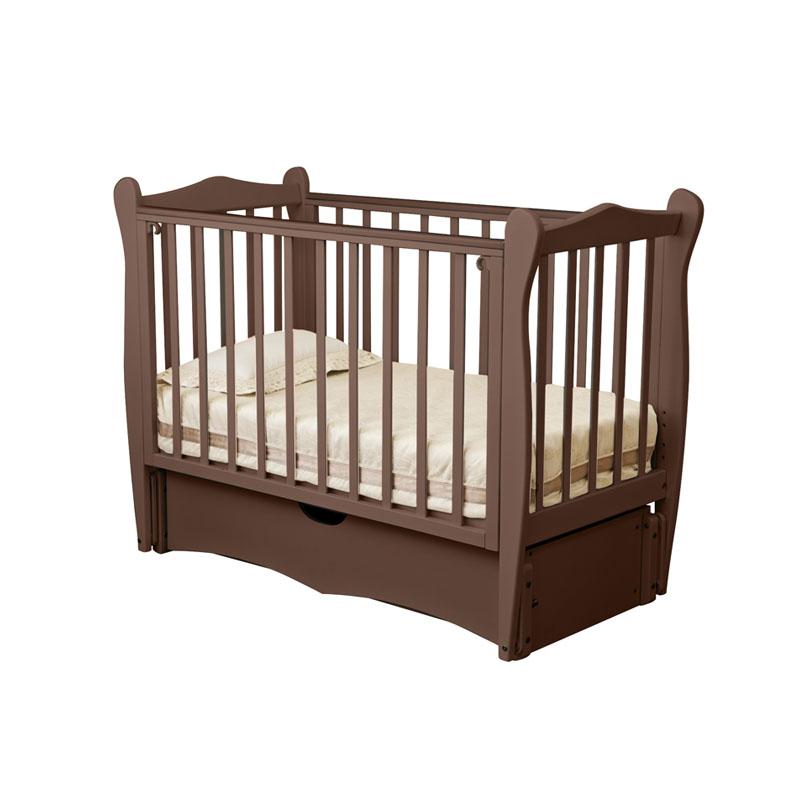 Купить Кровать детская Красная Звезда Сибирочка С 778, шоколад, КРАСНАЯ ЗВЕЗДА