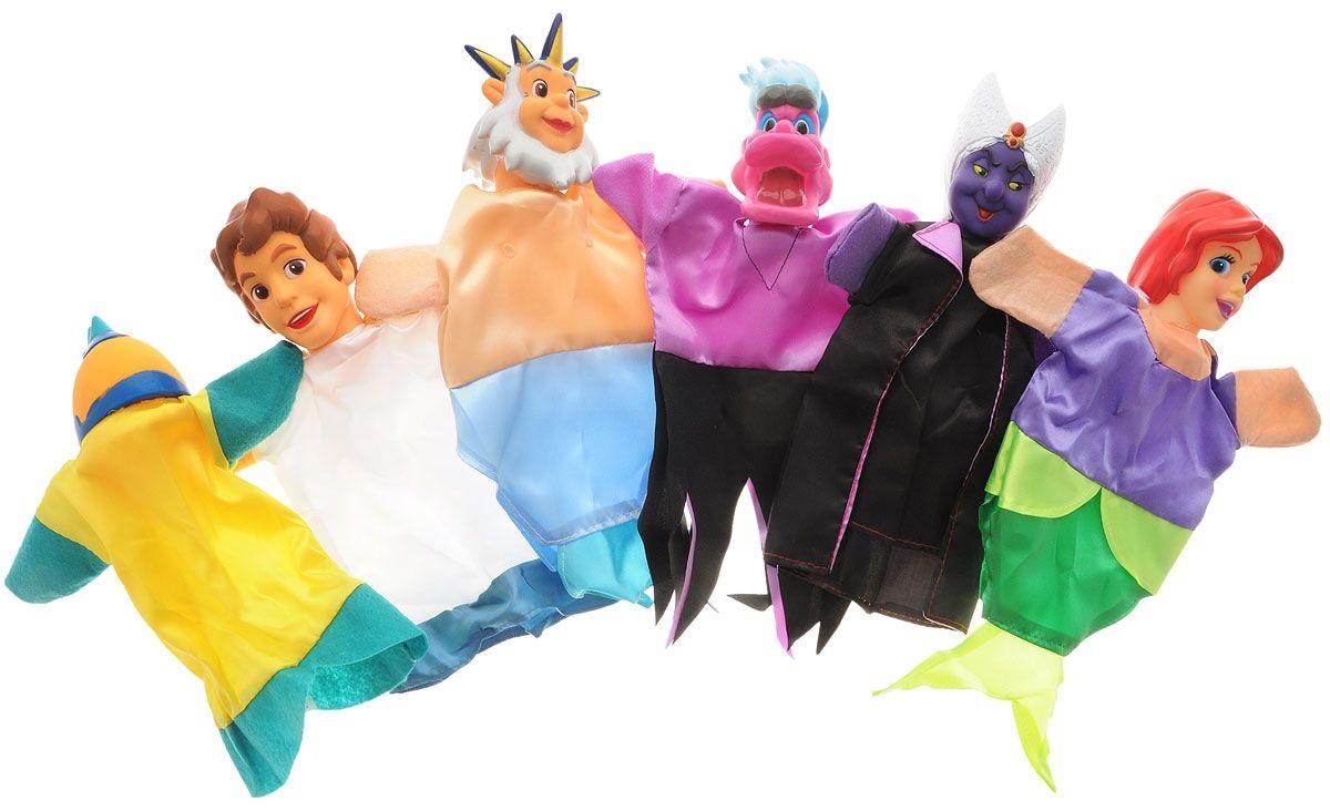 Кукольный театр - Русалочка из серии Сказки Моря, 6 куколДетский кукольный театр <br>Кукольный театр - Русалочка из серии Сказки Моря, 6 кукол<br>