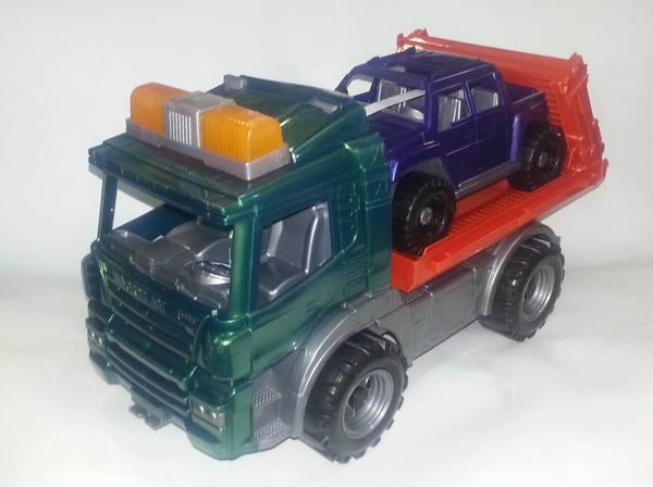 """Эвакуатор с машиной """"Спецтехника"""" от Toyway"""