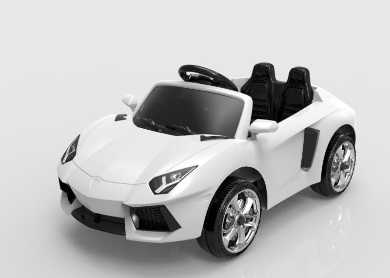 Электромобиль ToyLand Lambo BBH1188 белого цвета  - купить со скидкой