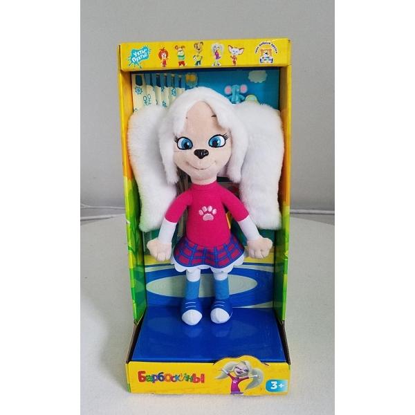 Мульти-Пульти™. Мягкая игрушка Барбоскины - Роза, 25 см с музыкальным чипомМягкие куклы<br>Мульти-Пульти™. Мягкая игрушка Барбоскины - Роза, 25 см с музыкальным чипом<br>