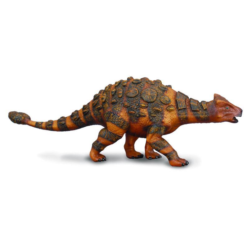 Фигурка Gulliver Collecta - Анкилозавр, коричневый, 17 смЖизнь динозавров (Prehistoric)<br>Фигурка Gulliver Collecta - Анкилозавр, коричневый, 17 см<br>