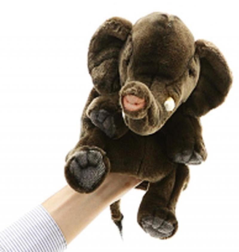 Игрушка на руку - Слон, 24 смДетский кукольный театр <br>Игрушка на руку - Слон, 24 см<br>