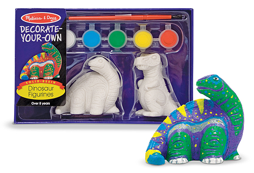 Набор - Разукрась фигурку динозавра из серии ТворчествоНаборы для рисования<br>Набор - Разукрась фигурку динозавра из серии Творчество<br>