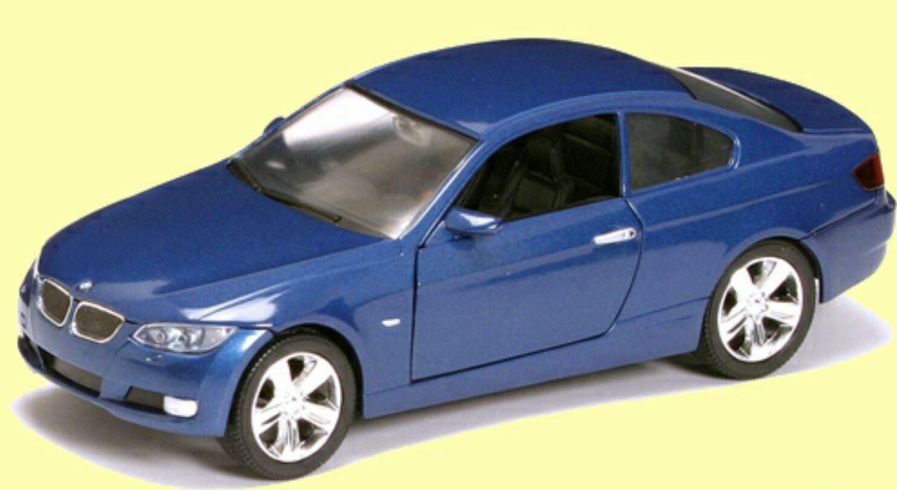 Коллекционный автомобиль - БМВ 335I Купе образца 2007 года, масштаб 1:24BMW<br>Коллекционный автомобиль - БМВ 335I Купе образца 2007 года, масштаб 1:24<br>